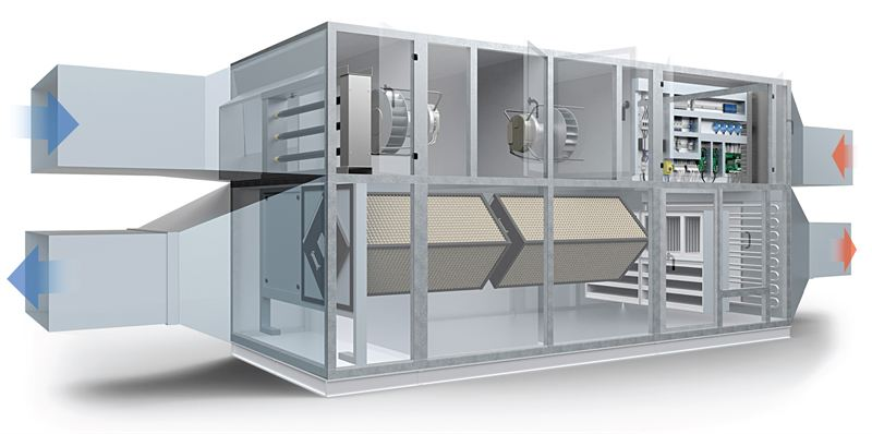 Mitsubishi Electric Launch New Heat Recovery Ahu Coolair